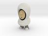 White Hoodie 7cm 3d printed