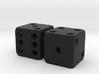 Barebones Pair of Dice 3d printed