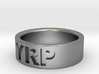 Custom Ring Engraved 3d printed