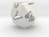 kite d8 (hollow) 3d printed
