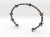 Barbed wire Bracelet 3d printed