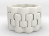 Interlaced Candle Ring 2 3d printed