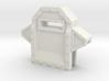 Wall Segment Center Gun Port 3d printed