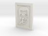 Subgenius pin 3d printed