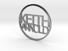 Personalized coin Keith Arnold v3 3d printed