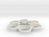 Revolver Ring Sizer - Medium 3d printed