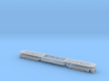 EMD DD35 Dummy Chassis N Scale 1:160 3d printed