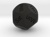 D14 Sphere Dice (week days) 3d printed