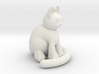 One Sitting Cat 3d printed