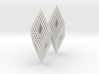 Mengerite Earrings 3d printed