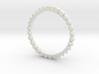 CubePrismSphere Ring 3d printed