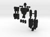"""""""Sparks"""" Gunslinger figure  3d printed"""