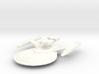 USS Esteban (plus two weapons pods, detached) 3d printed
