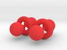 Quantum Physics/Chemistry Atomic d-orbital Earring 3d printed