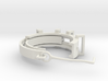 Earring ring 3d printed