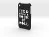 'Rock n Roll' iPhone 3GS Cover 3d printed