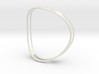 Curved ring 3d printed