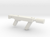 Sub Machine gun with Silencer 3d printed