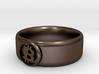 Bitcoin Ring (BTC) - Size 12.0 (U.S. 21.39mm dia) 3d printed