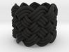 Turk's Head Knot Ring 6 Part X 9 Bight - Size 0 3d printed