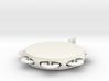 Minimum tambourine key chain 3d printed