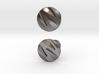 Custom Logo Cufflinks 3d printed