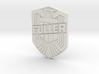 Fuller Badge 3d printed