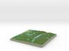 Terrafab generated model Sun Dec 01 2013 17:38:41  3d printed