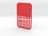 Credit Card Chess Set 3d printed