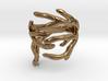 Antler Ring Size 7.5 3d printed