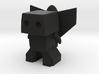 Robot 0049 Jet Pack Bot v1 Robot with Rocket Back  3d printed