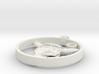 Bison Skull Charm 3d printed