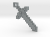 Minecraft - Sword 3d printed