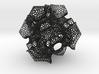 CD triply periodic minimal surface, coarse mesh 3d printed