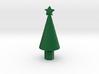 Small minecraft xmas tree 3d printed