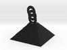 pryamid pendant 6 cm 3d printed