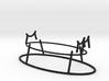 Adjustable Saber Hilt Stand 3d printed