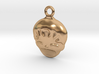 Smiling Child - head - Design for pendant/earring  3d printed