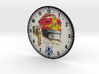 Clockface - Santa Fe 3d printed