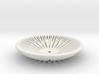 Segmenta ceramic bowl 3d printed