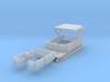 Pontoon Boat N 1:160 Flat Bottom 3d printed