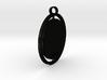 Microphone Pendant Shapeways 3d printed