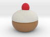 sitting Xmas Pudding Ornament 3d printed