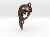 Bird Skull Pendant  3d printed