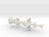 White Cross Ramscoop Damocles 3d printed