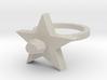 Blue  Pimpernel Ring 3d printed