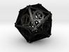 Steampunk d20 3d printed