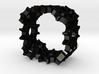 Steampunk Gear Ring 3d printed