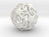 Skinny starfish-o-hedron 3d printed