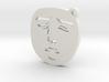 Yaranaika Face Charm 3d printed